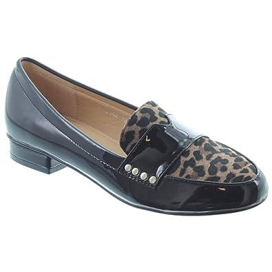 07d05c46144 Lunar - Ladies Vesta Loafers FLC142 in Leopard  Amazon.co.uk  Shoes ...