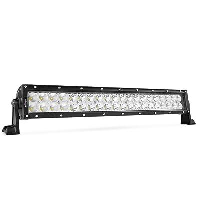"Nilight 22"" 120w LED Light Bar Flood Spot Combo Work Light Driving Lights Fog Lamp Offroad Lighting for SUV Ute ATV Truck 4x4 Boat,2 Years Warranty: Automotive"