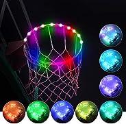 Led Basketball Hoop Lights,Remote Control Basketball Rim LED Light, Super Led Light with 16 Colors, Waterproof