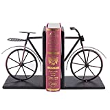 Fasmov Vintage Style Bicycle Bookends Art Bookend, Bronze Deal (Small Image)