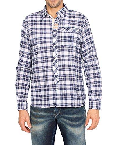 Pepe Jeans - Men's Cotton Shirt CAESER - Blue, S (Pepe Jeans Brillen)