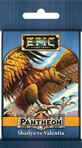Epic Card Game Expansion: Pantheon - Shadya vs. Valentia