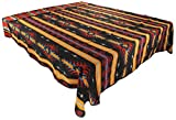 Splendid Exchange Southwestern Bedding Bonita Collection, Mix and Match, King Size Reversible Bedspread, Anasazi Black and Red