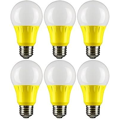 Sunlite 80145 Blue LED A19 3 Watt Medium Base 120 Volt UL Listed LED Light Bulb