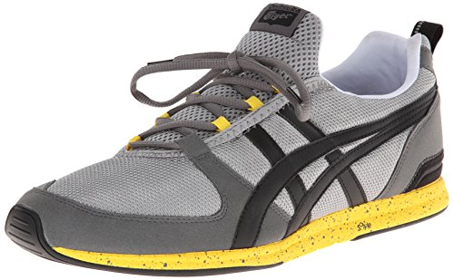 Onitsuka Tiger ULT-Racer Fashion Sneaker,Grey/Black,5.5 M US/7 Women's M US