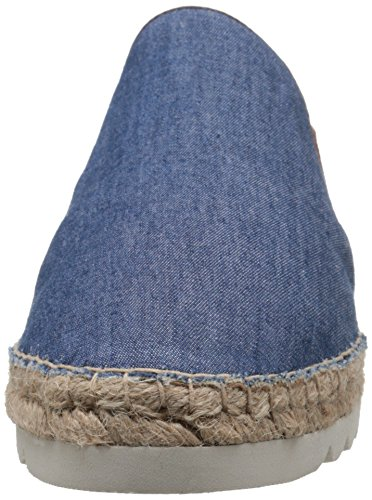 Nine West Women's Noney Fabric Slip-ONS Blue/Multi S1QVNQ