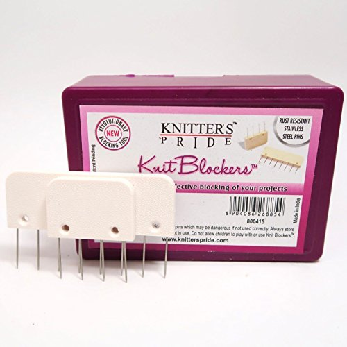 Knitters Pride Knit Blockers and 50 T-Pins Blocking Bonus Bundle by Knitter's Pride (Image #2)