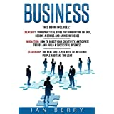 Business: 3 Manuscripts - Creativity, Leadership, Innovation