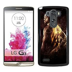 lebron james 1 For LG G3 Black Case Cover