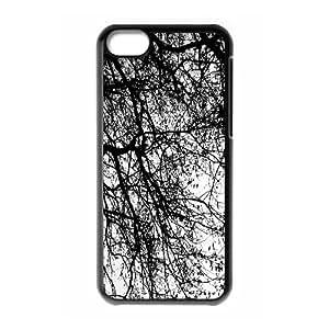 Iphone 5C Case, tree 19 Case for Iphone 5C Black