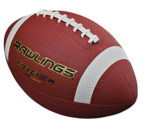 - Rawlings Pro5 Official Size Rubber Football