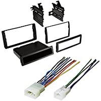 2002-2006 CAMRY CAR STEREO RADIO DASH INSTALLATION TRIM KIT W/ WIRING HARNESS