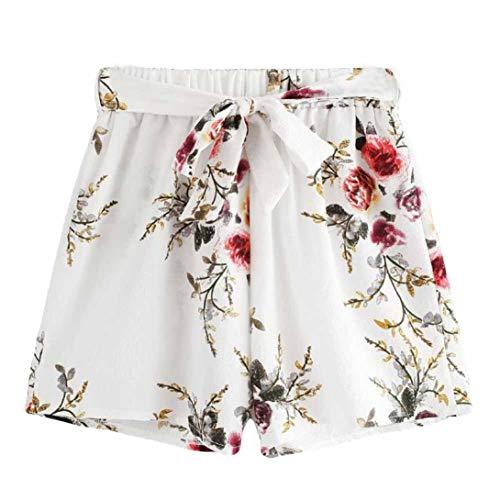 SUMTTER Casuale Estate Corti Donne Pantaloni Bianco Sexy Pantaloni Pantaloncini Caldo qZqwOA