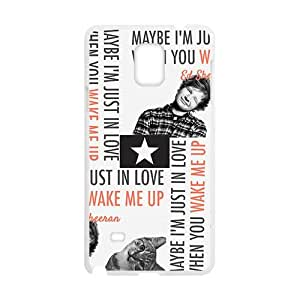 Cute cat and naughty boy Cell Phone Case for Samsung Galaxy Note4 by runtopwell