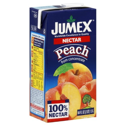 Jumex Peach Nectar - Jumex Nectar Peach, 64-ounces (Pack of8)