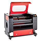 Orion Motor Tech 60W 110V CO2 Laser Engraving Machine Engraver Cutter with USB Interface(20'' x 28')