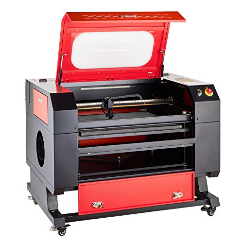 Orion Motor Tech 60W 110V CO2 Laser Engraving Machine Laser Engraver Cutter with USB Interface (20 x 28 Inches Engraving Area)