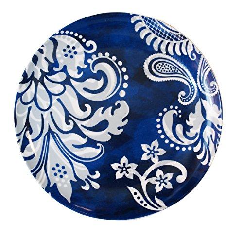 (Noble Excellence Rue De Bleu Accent Dinnerware Collection (Pattern 3))