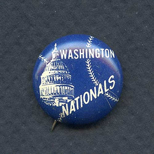 - 1950's Team Logo Pins Washington Senators EX-MT 353419 Kit Young Cards