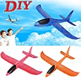 stewarted Children Gifts Hand Launch Throwing Glider Aircraft Inertial Foam EVA Airplane Toy Plane Model Outdoor Fun Sports Interesting Toys