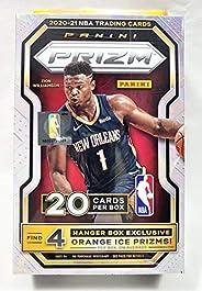 2020-21 Panini Prizm NBA Basketball Hanger Box (20 Cards/Box)