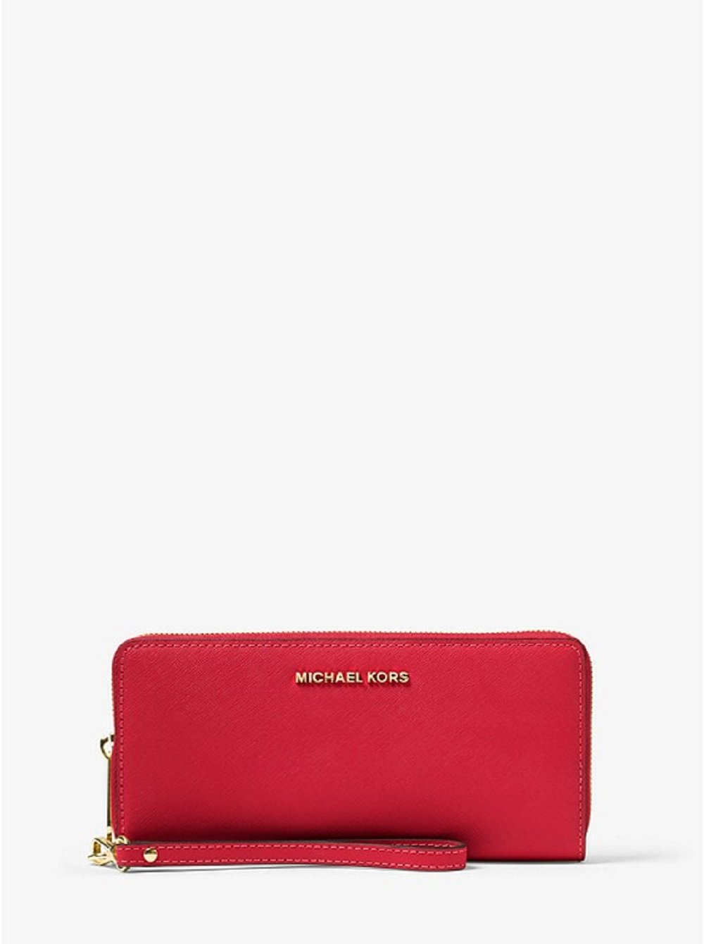 MICHAEL MICHAEL KORS Jet Set Travel Leather Continental Wristlet by Michael Kors