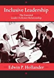 img - for Inclusive Leadership: The Essential Leader-Follower Relationship (Applied Psychology Series) by Edwin Hollander (2012-07-29) book / textbook / text book