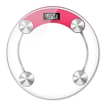 Casa Escalas electronicas Precisión Cuerpo humano Balanza Salud Básculas , pink: Amazon.es: Deportes y aire libre