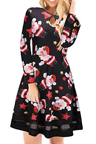 Retro Keyhole Dress - 7