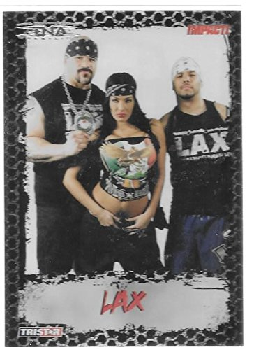 TNA LAX 2008 TriStar TNA Impact Wrestling Debut Trading Card #38 - Stored in a Protective Plastic Display Case!! -