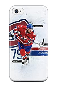 Snap-on Montreal Canadiens (47) Case Cover Skin Compatible With Iphone 4/4s