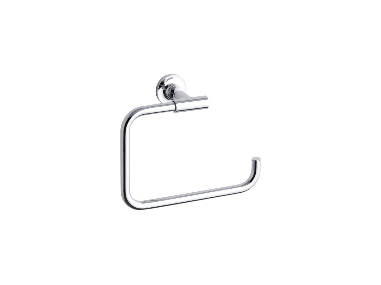 KOHLER K-14441-CP Purist Towel Ring, Polished Chrome by Kohler