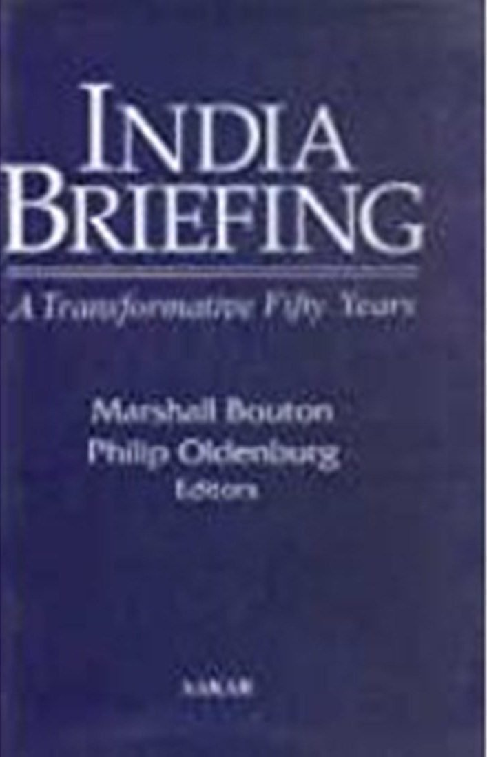Download INDIA BRIEFING: A Transformative Fifty Years pdf