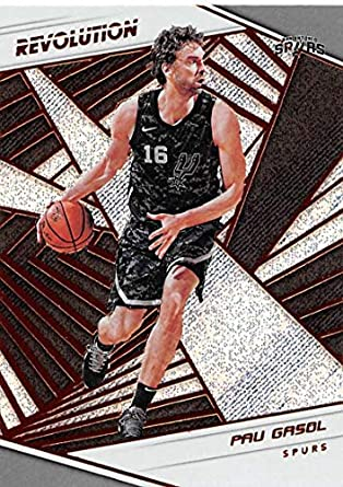 2018-19 Panini Revolution #67 Pau Gasol San Antonio Spurs NBA Basketball Trading Card