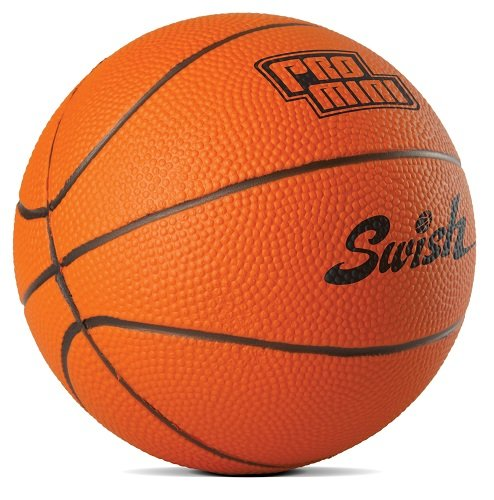 SKLZ Pro Mini Hoop 5-inch Foam Basketball, Orange (Play Hamper)