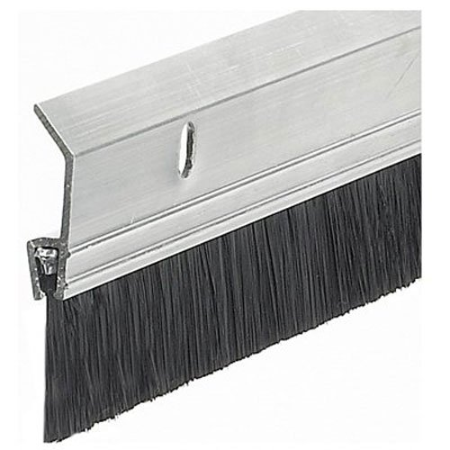 Great Features Of Frost King SB36 2 x 36 Extra Aluminum/Brush Door Sweep, Silver