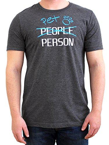 Paw Addict Men's Pet Person Graphic T-Shirt (X-Large)