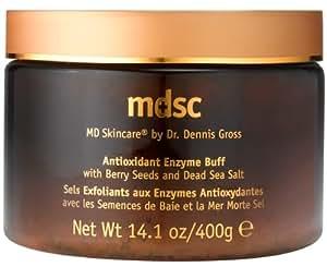 Dr. Dennis Gross Skin Care Antioxidant Enzyme Buff with Berry Seeds & Dead Sea Salt - 14.1 oz