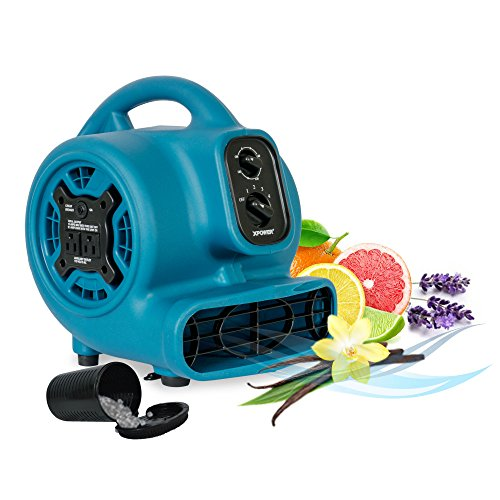 XPOWER Freshen Aire P-260NT 1/4 HP, 925 CFM, 4 Speeds Mini Mighty Scented Air Mover, Utility Fan, Dryer, Blower with Ionizer and Timer -  XPOWER Manufacture, Inc.