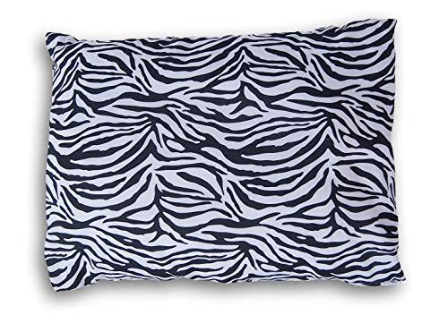 Home Linens Travel Pillow Case - Zebra Print - 20 Inches (Zebra Print Cozy Cover)