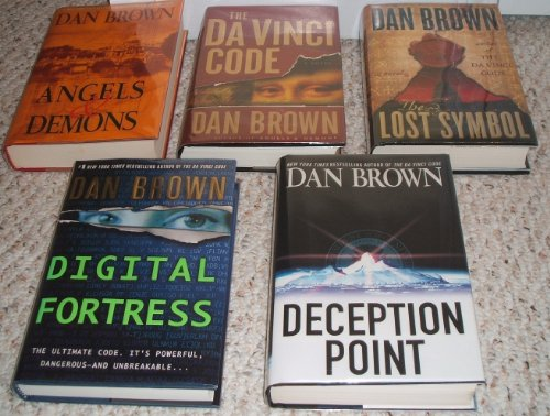 Download Dan Brown 5 Book Set Davinci Code Deception Point