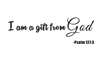 Amazon im a gift from god psalm 1273 home kids nursery baby im a gift from god psalm 1273 home kids nursery baby room negle Image collections