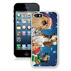 Personalized Hard Shell Snowflakes Christmas Dogs and Cats Case For Iphone 6 Plus (5.5 Inch) Cover Case,Phone Case For Iphone 6 Plus (5.5 Inch) Cover,Case For Iphone 6 Plus (5.5 Inch) Cover White PC Cover