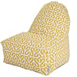 Majestic Home Goods Kick-It Chair, Aruba, Citrus Review and Comparison