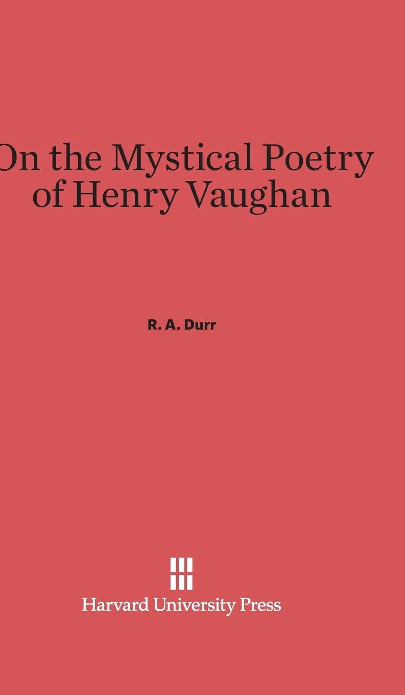 Download On the Mystical Poetry of Henry Vaughan PDF