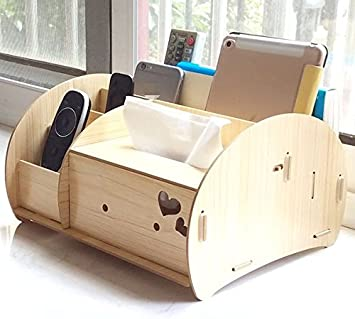 ZZSIccc - Caja de almacenaje de escritorio para libros, sala de estar, mesa de