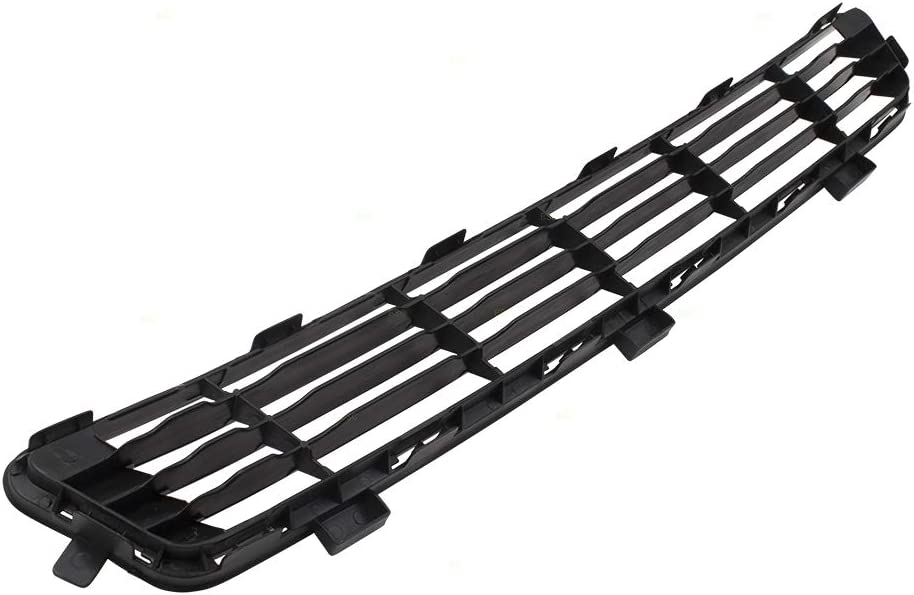 Front Bumper Lower Center Grille Textured Black Replacement for 10-11 Toyota Camry LE XLE Base 5311206090 5311233040