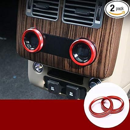 Amazon Com Hotrimworld Red Interior Rear Air Conditioner Knob Trim
