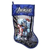 Marvel Avengers Captain America 17.5'' Christmas Stocking With Lenticular Image