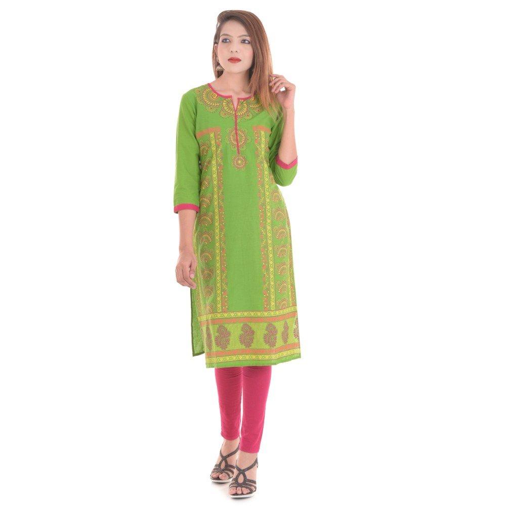 Vihaan Impex Hand Made Rajasthani Kurti for Womens VIKU2612